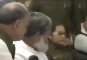 altercation anil vij and sp sangeeta kalia