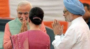 sonia gandhi manmohan and modi meet for gst