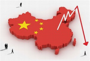 china economy anual gdp lowest at 25 years low in 2016