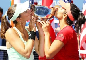 sania mirza and martina hingis won australian open grand slam