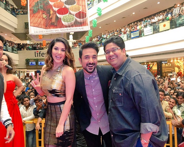 sunny leone overwhelmed with mastizaade audience responce