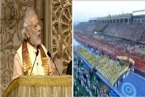 World Culture Festival is the fest of World's Art and Heritage Narendra Modi