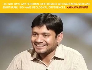 kanhaiya kumar speaks in an interview with ndtv after his fiery speech at jnu against narendra modi, smriti irani and bjp.
