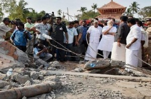 Kollam Puttingals Temple For Accident five arrested, several questioned