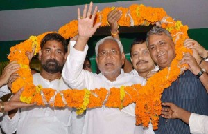 Nitish Kumar JDU president for the first time, replaces Sharad Yadav