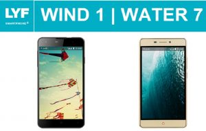 lyf wind 1 and lyf water 7launched