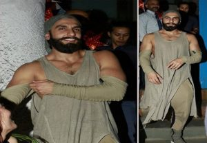 Ranveer Singh weird dress