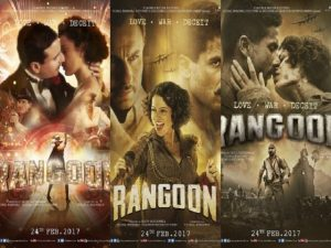 rangoon first week box office collection