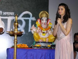 Varun Alia released Ganpati song of Bhikari