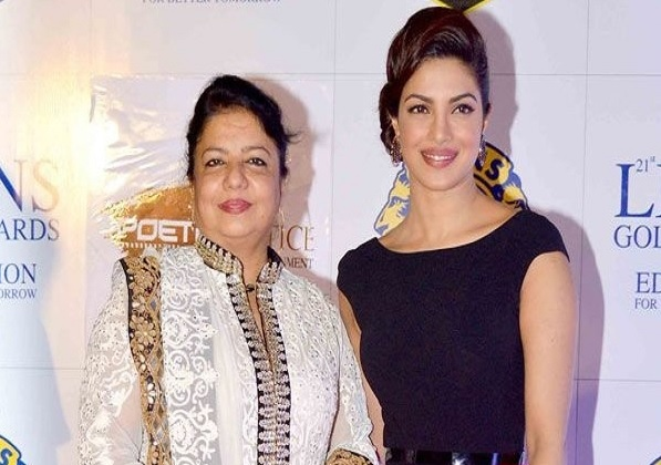 priyanka chopra with mother madhu chopra