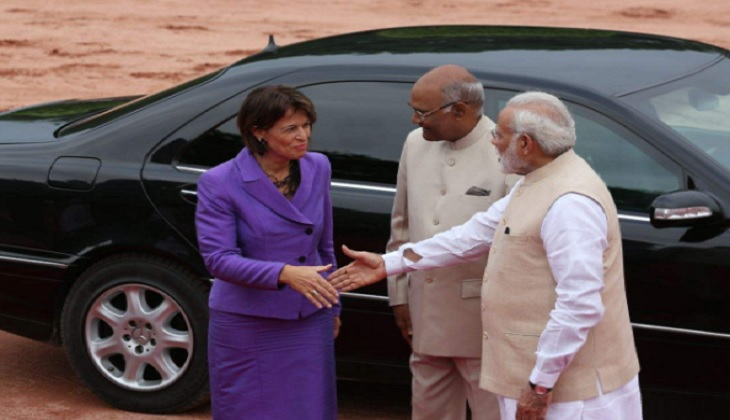 Swiss President arrives in India, wants to improve Indo-Swiss trade relations