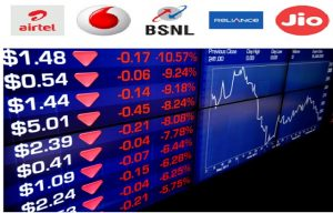 idea airtel vodafone shares tumbled trai iuc decision